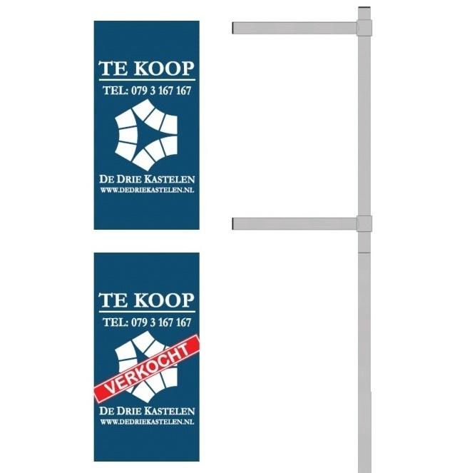 Banner T.b.v. Makelaarsbord Type BLB