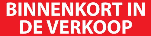 Rood Met Wit Binnenkort In De Verkoop