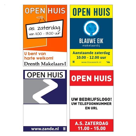 Open Huis Poster Maatwerk