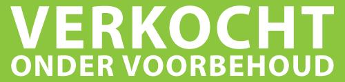 Groen Met Wit Verk. Onder Voorbehoud