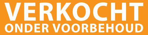 Oranje Met Wit Verkocht Ond Voorbehoud