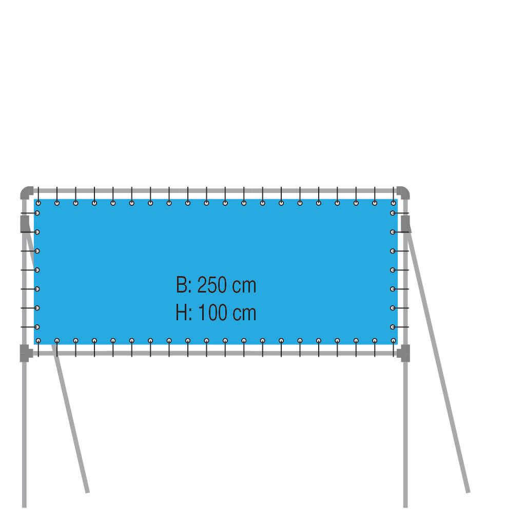 Vrijstaand Frame Type VF250-100