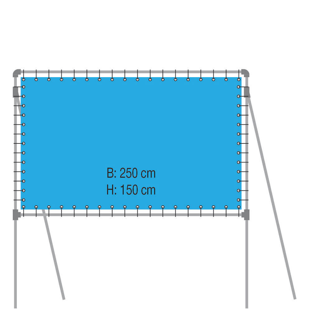 Vrijstaand Frame Type VF250-150
