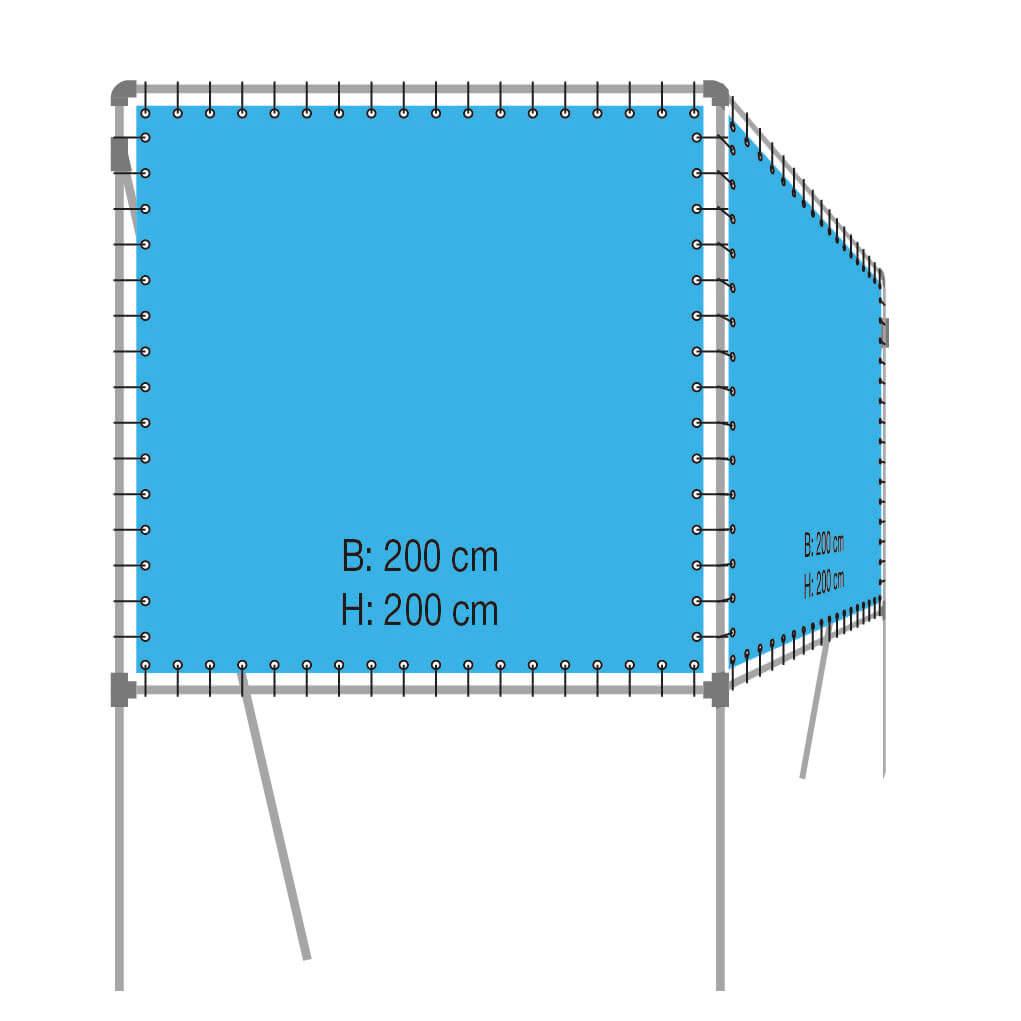 Vrijstaand V-Frame Type VVF200-200