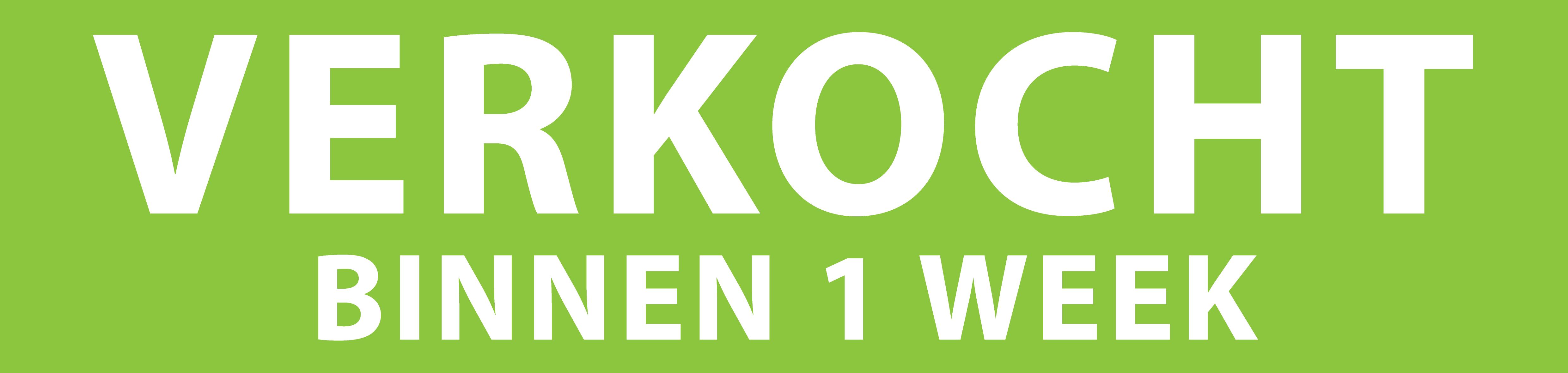 Groen Met Wit Verkocht Binnen 1 Week