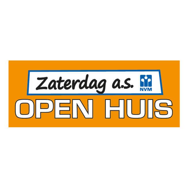 NVM Openhuis Sticker