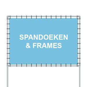 Makelaarsartikelen - Reclameborden Totaal - Alles voor makelaars - spandoeken en frames