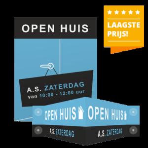 Reclameborden Totaal - open huis producten