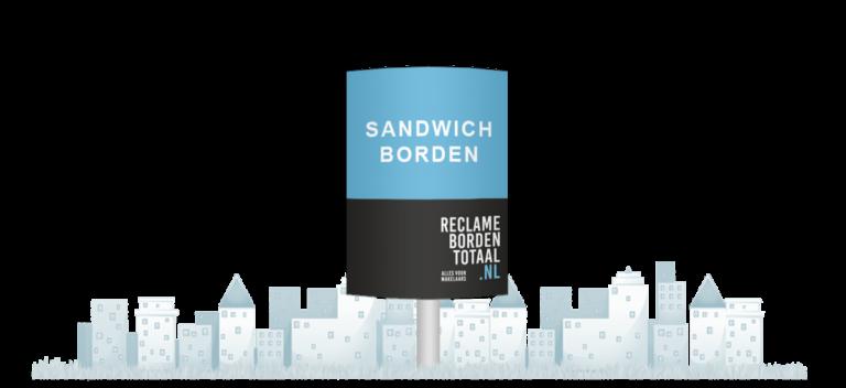 Reclameborden Totaal - Opvallende sandwichborden geleverd en geplaatst