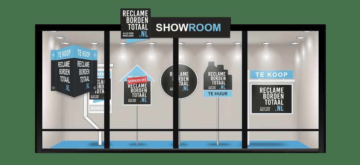 Reclameborden Totaal - Informatie, inspiratie en creatie in onze showroom