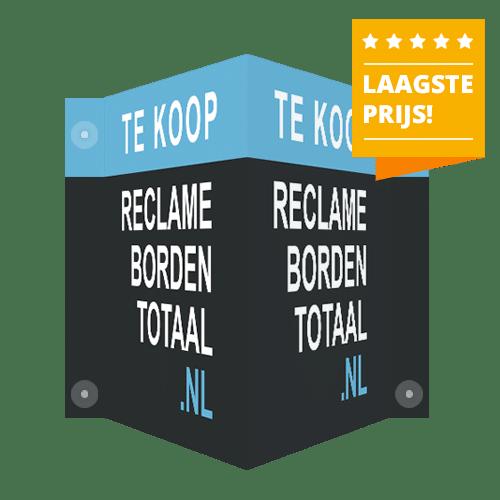 Reclameborden Totaal v-borden makelaarsborden - v-borden goedkoop bestellen